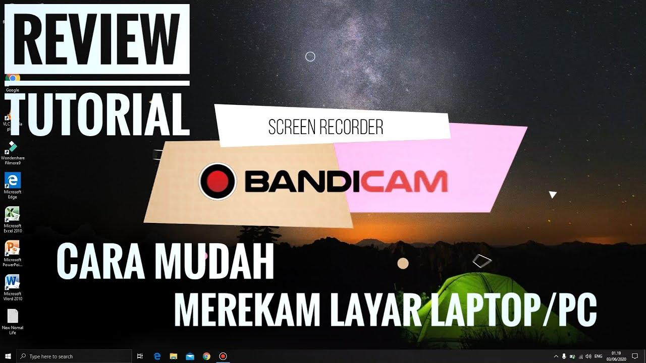 Cara Mudah Merekam Layar PC/Laptop - BANDICAM - YouTube