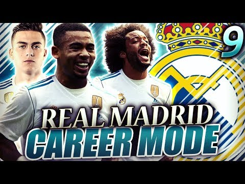 FIFA 18 Real Madrid Career Mode #9 - SUPER IMPORTANT GAMES! LIVERPOOLIN UCL! BARCELONA IN LA LIGA!
