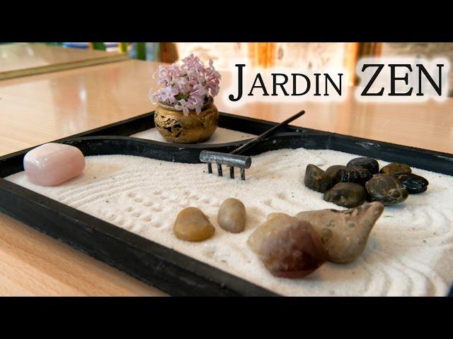 Jardin de mesa zen japones para relajacion y decoracion   youtube