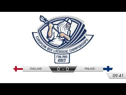England v Finland EBLC 2017
