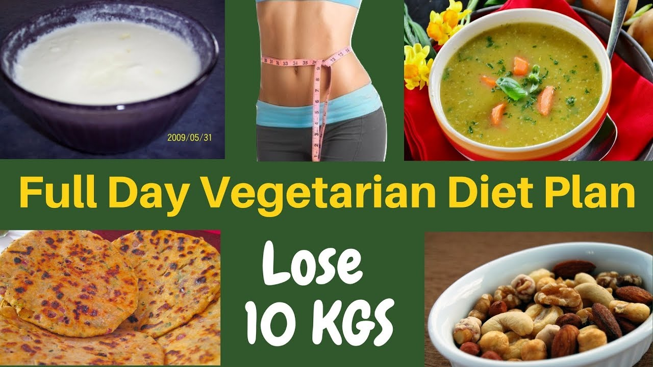 FAT LOSS VEGETARIAN Diet Plan for Women (Hindi) | How to ...