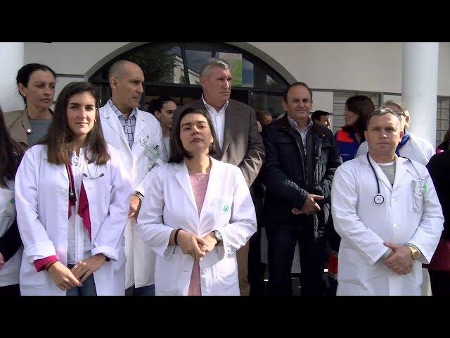 La plantilla sanitaria del Centro de Salud de Cartaya recibe el apoyo del ayuntamiento y usuarios