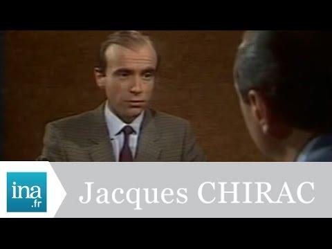 Jacques Chirac répond à Alain Juppé - Archive INA