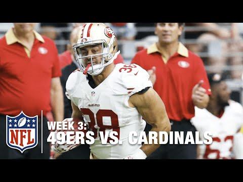 Jarryd Hayne Speeds to the Outside for a 37-yard Punt Return | 49ers vs. Cardinals | NFL