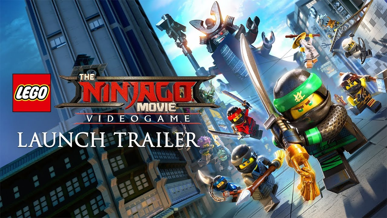 The Lego Ninjago Movie Video Game Launch Trailer Youtube