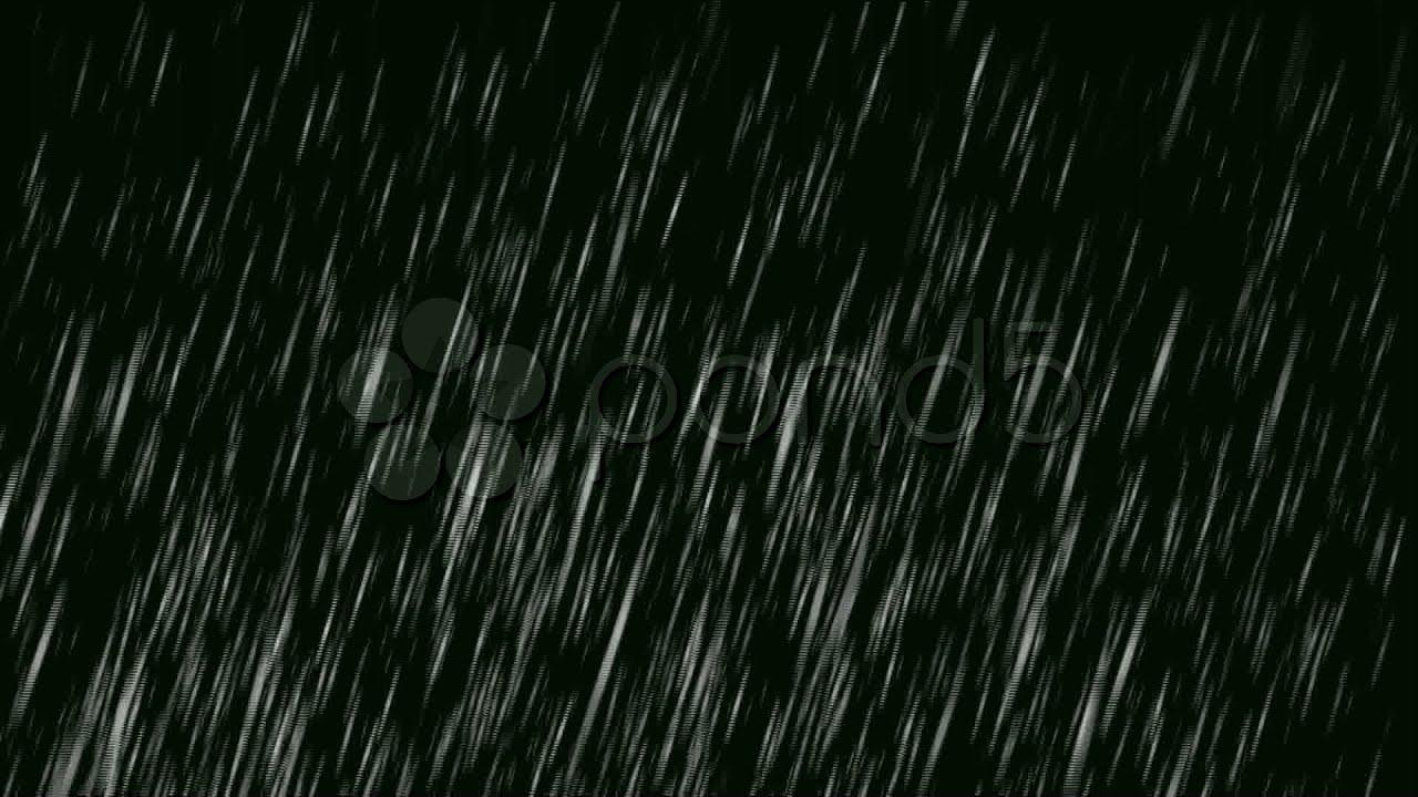 Heavy Rain Background Stock Footage Youtube