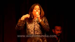 Rekha Bhardwaj singing