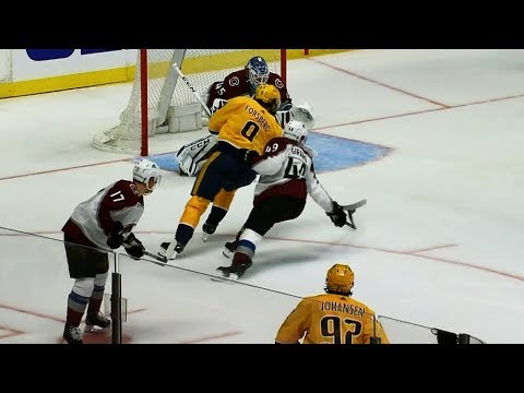 Forsberg scores, turns Girard inside out with dynamite move