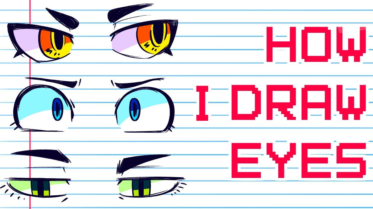 drawing tumblr eye Cartoon
