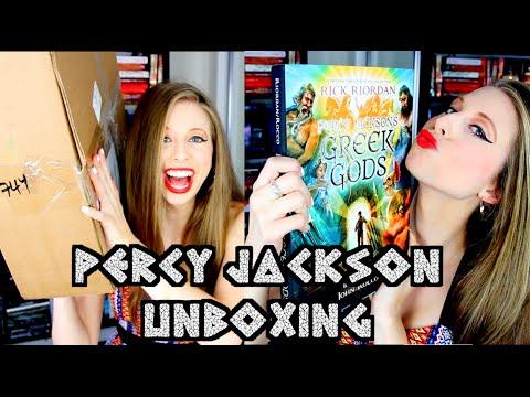 PERCY JACKSON'S GREEK GODS & UNBOXING