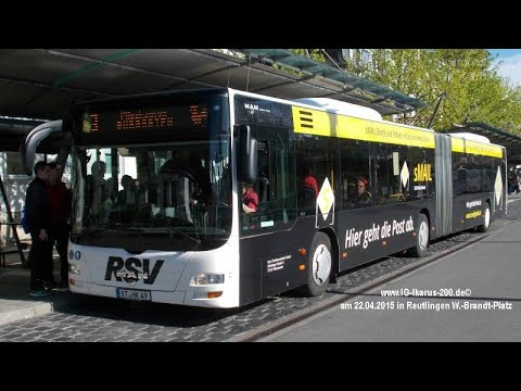 [Mitfahrt] MAN Lion's City G Euro 6 | RSV Reutlingen | Linie 3