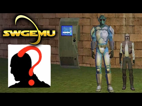 Star Wars Galaxies Gameplay – Bounty Hunting for Beginners (Bounty Hunter Basics – SWGEmu Basilisk)