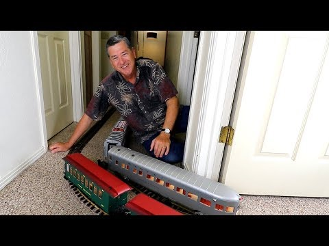 Model Railway Train Track Plans -This Model Train Video Ends With An Accident!