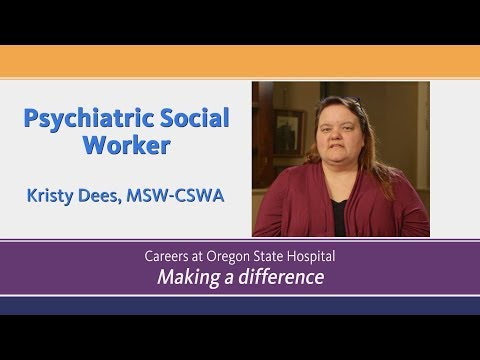 Psychiatric Social Worker : Careers in Mental Health