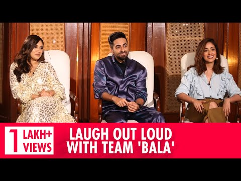 Most HILARIOUS Ayushmann Khurrana Interview | Bhumi Pednekar & Yami Gautam Interview | Bala