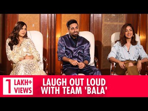 Most HILARIOUS Ayushmann Khurrana Interview | Bhumi Pednekar & Yami Gautam Interview | Bala