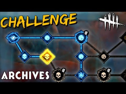 """The Archives """"Battle Pass"""" Challenges - Dead by Daylight"""