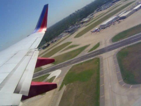 Take-off Video from Dallas Love Field Airport - SW Airlines