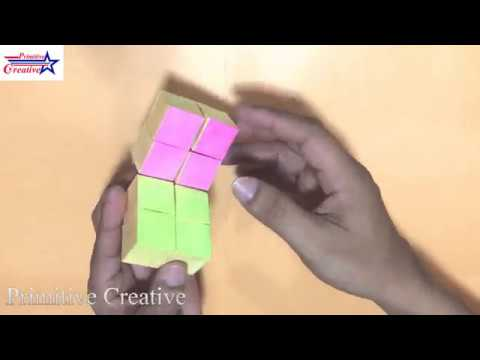 How To Make A Paper INFINITY CUBE / Easy by Hand DIY / Primitive Creative