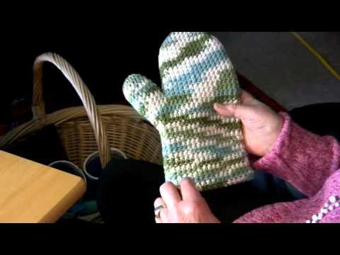 Ursula Grafs Double Density Oven Mitts Crochet Level Advanced