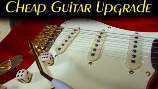 How To upgrade a cheap Guitar / DIY Guitar Kit