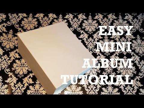 Super Easy Mini Album Tutorial - Step by step!