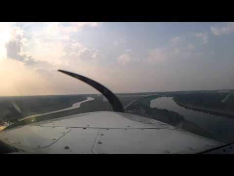 Flying a Mooney to CYHY (Hay River, NT) with ATC Audio