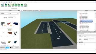ROBLOX   Vamos criar um simulador de ônibus   Terminando a estação de ônibus de Blexington   EP 1