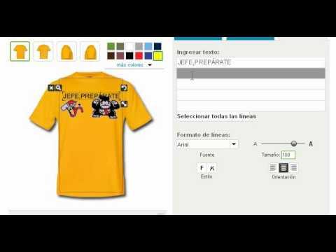 sinergiasincontrol.com   Como crear tu propia camiseta - YouTube e68a584ff66f3