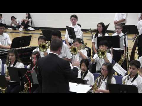Harbour Pointe Middle School Jazz Band Winter Concert 12/06/2016