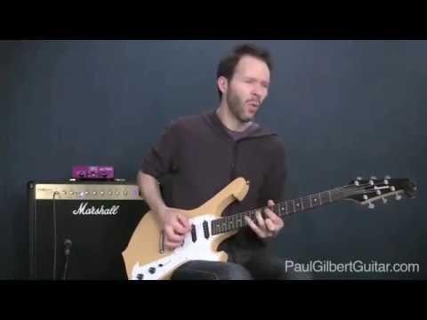 Rock Guitar Lesson: Paul Gilbert Teaches a Neal Schon Riff