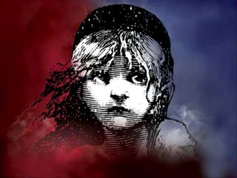 Les Miserables - Red and Black