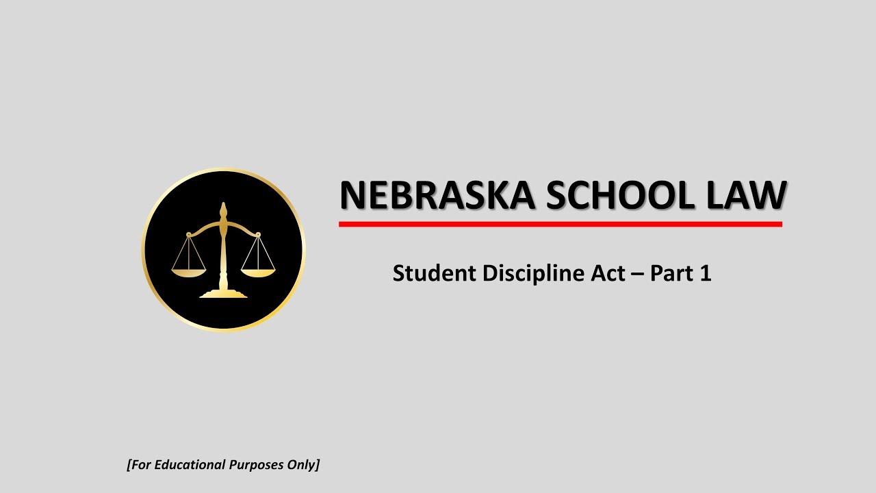 School discipline part one