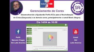 Transmissão ao vivo de SAi Latin America - Gerenciamento de Cores