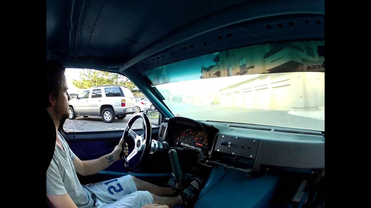 In Cab Brake Test Drive 1uzfe Nissan Hardbody Drift