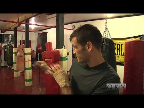 Western Ave Boxing Gym Oklahoma city , Interview with gym owner Travis Hoffman.