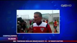 Central CMD: Sao Paulo ya se encuentra en Trujillo (Copa Libertadores)