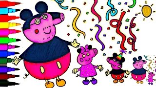 PEPPA PIG Coloring Book Pages Peppa
