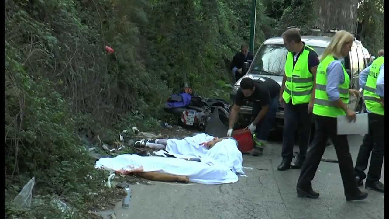 napoli incidente tra quarto e pianura due morti live