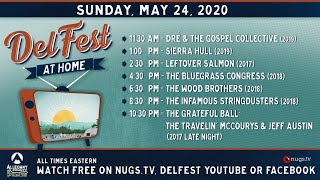 DelFest At Home: Sierra Hull, Leftover Salmon, Wood Brothers, Infamous Stringdusters &  more