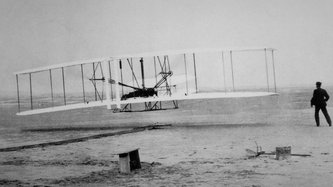 The First Airplane In The World