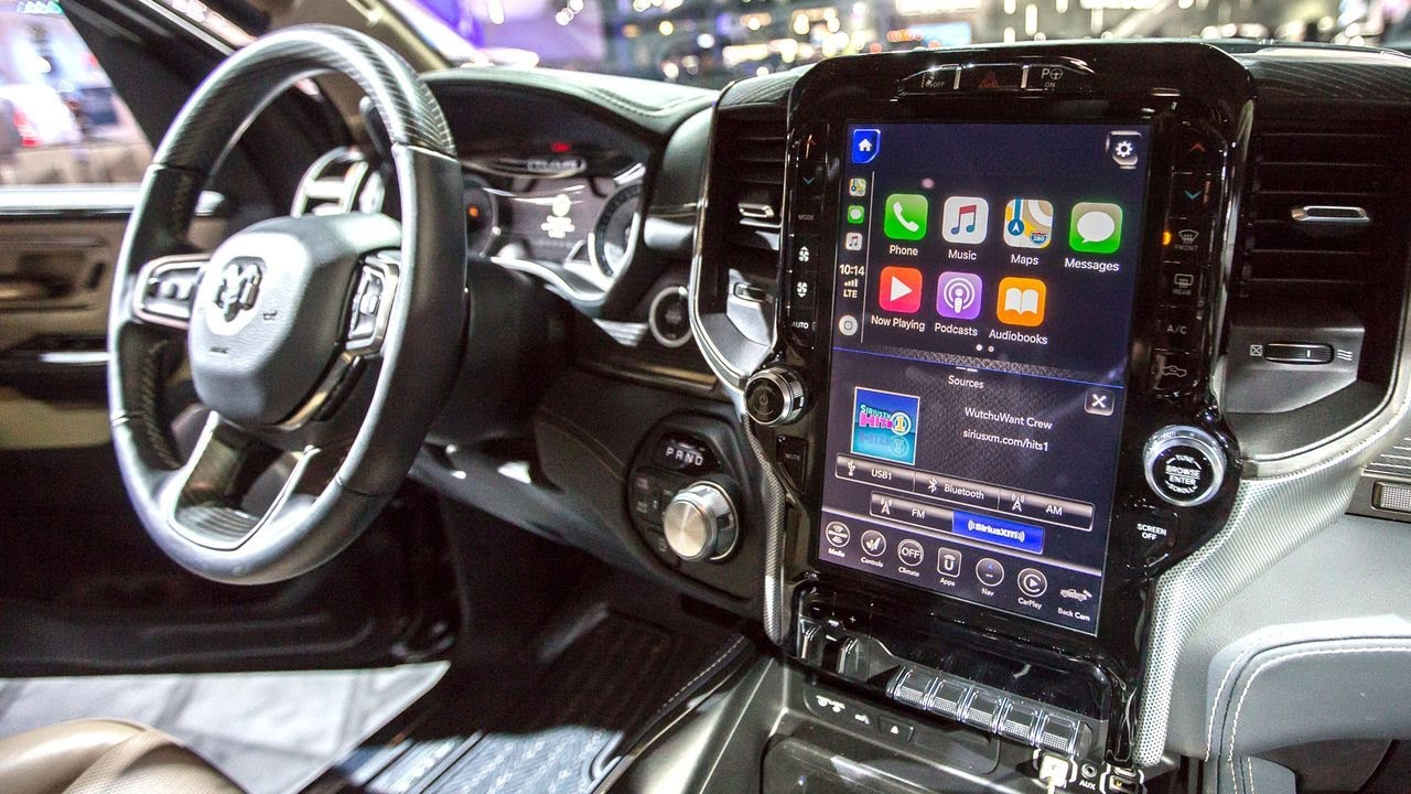 best car infotainment systems 2018 detroit auto show youtube. Black Bedroom Furniture Sets. Home Design Ideas