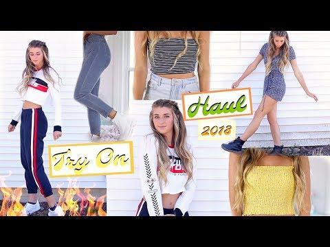 Huge TRY ON Clothing HAUL 2018! Brandy...