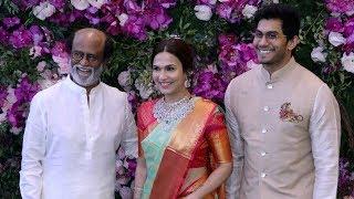 Superstar Rajinikanth Grand Entry At Akash Ambani And Shloka Mehta Wedding