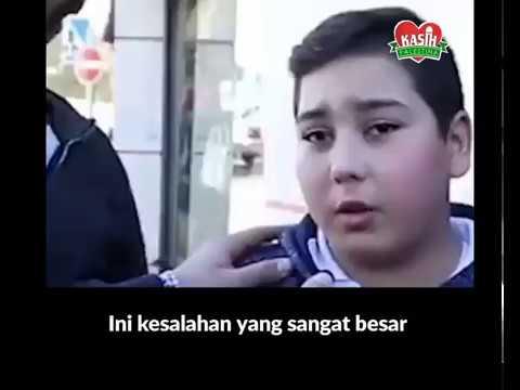 Pesan Anak Palestina pada Trump jika ingin merebut Palestina