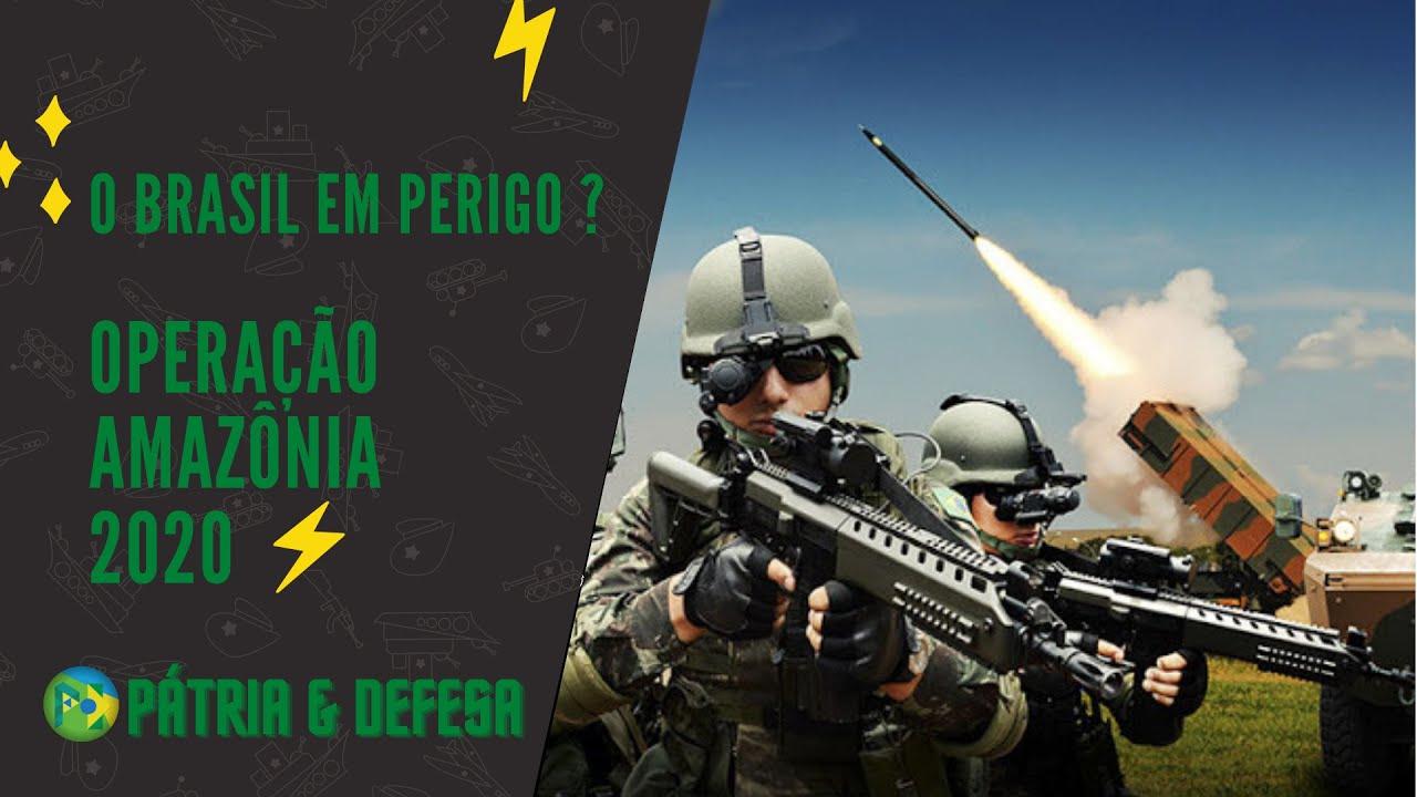 A Amazônia Brasileira Está em Risco? Vamos descobrir juntos.