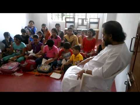 Yesudas' music class at Tharanganisari School of Music, Trivandrum