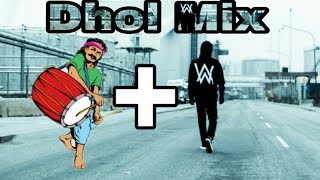Alan Walker Faded Dhol Mix USE HEADPHONES Remix By Vasu Nauhria