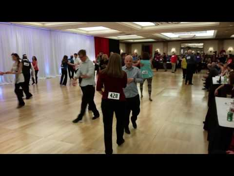 Anna Fraunhoffer & Mike Anderson. Swing Dance America 2016.