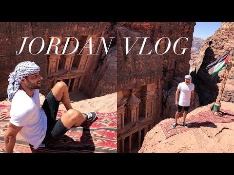 TRAVELING TO JORDAN | AMMAN | PETRA | VLOG | Mahmud Al Smadi